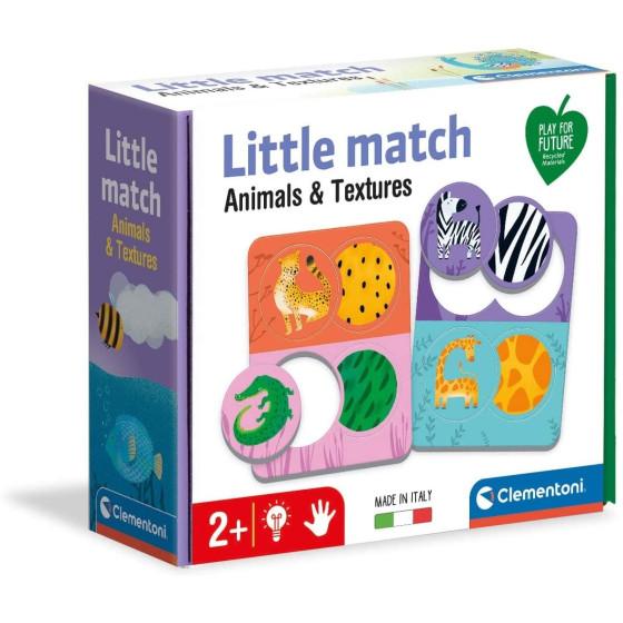 Little Match Animali e Texture 16326 Clementoni - 3