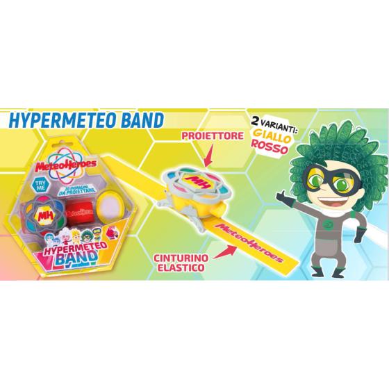 MeteoHeroes Bracciale Proiettore Hypermeteo Band Dynit Srl - 5