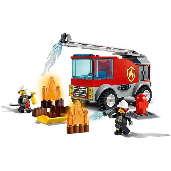 Lego City 60280 Fire Autopompa con Scala dei Vigili del Fuoco Lego - 3
