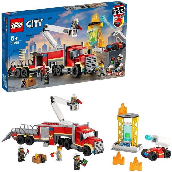Lego City 60282 Unità di Comando Antincendio dei Vigili del Fuoco Lego - 6