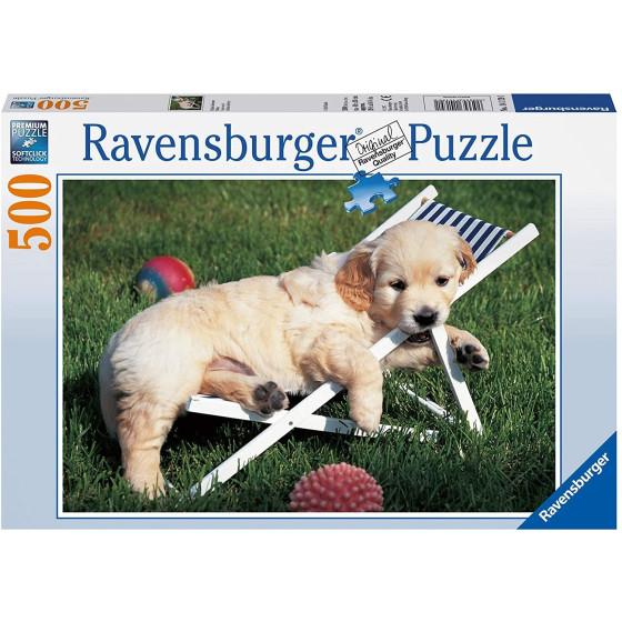 Golden Retriever Puzzle 500 pezzi 14179 Ravensburger - 2
