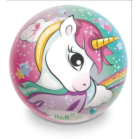 Pallone Bio Unicorno 23cm Mondo - 1