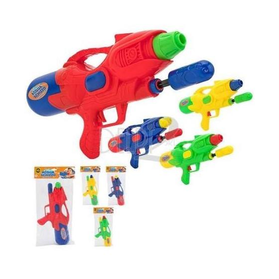 Pistola Acqua Schizzo 27cm Colori Assortiti Globo - 1
