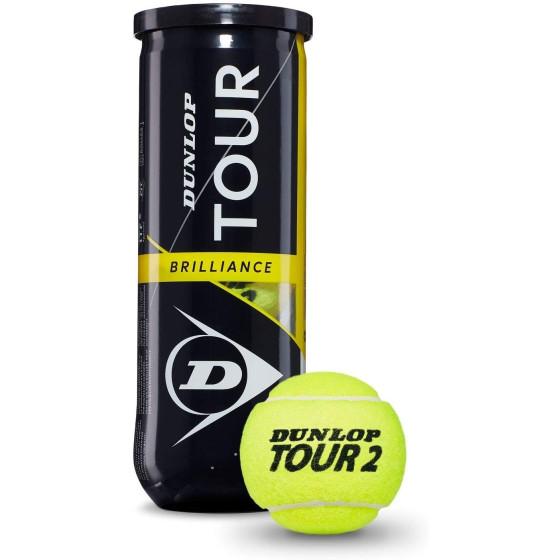 Tubo Palline Tennis 3 pz Dunlop Mandelli - 2