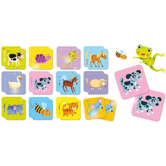 Carotina Baby - Baby Memo Animali 80045 Lisciani - 1