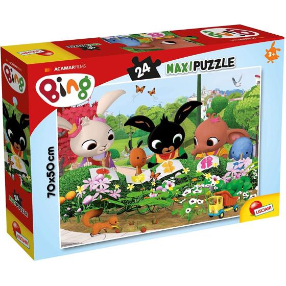 Bing Osserviamo La Natura Maxi Puzzle 24 Pezzi 81219 Lisciani - 1