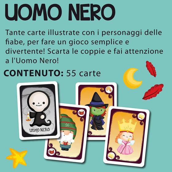 Uomo Nero Gioco di Carte 85798 Lisciani - 1