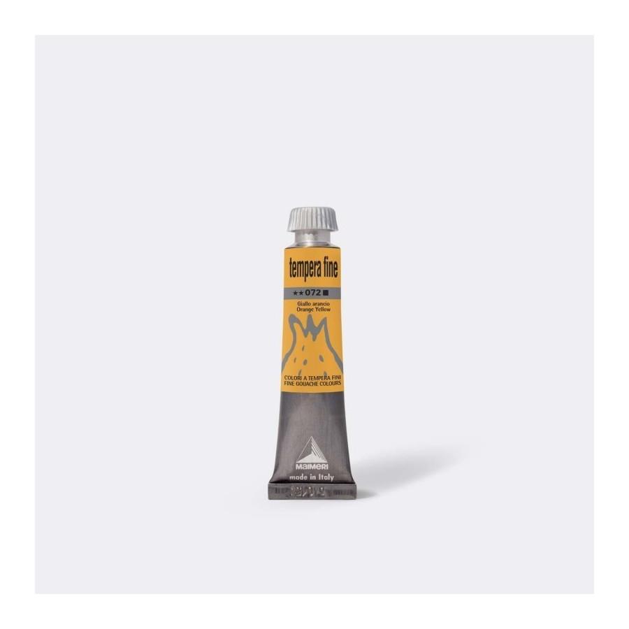 Maimeri Tempera Fine 20 ml Giallo Arancio M2502072 3 Pz Fila - 1