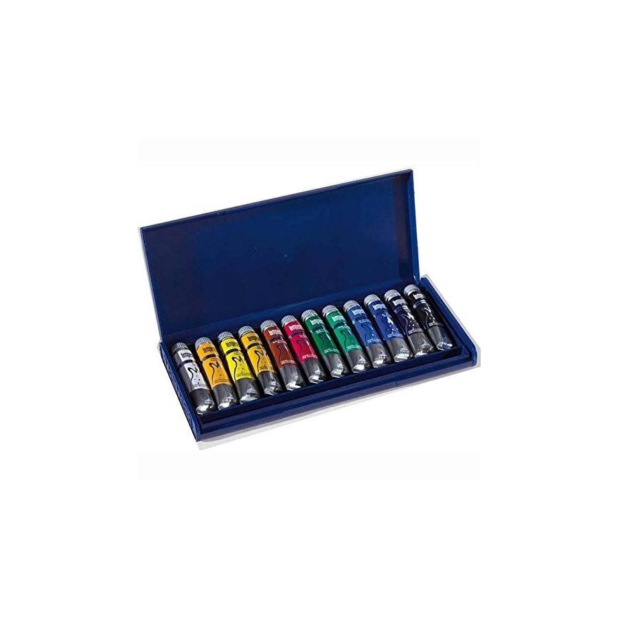 Maimeri Colori Tempera Fine 20ml Valigia 12 Pz M2598440 Fila - 1