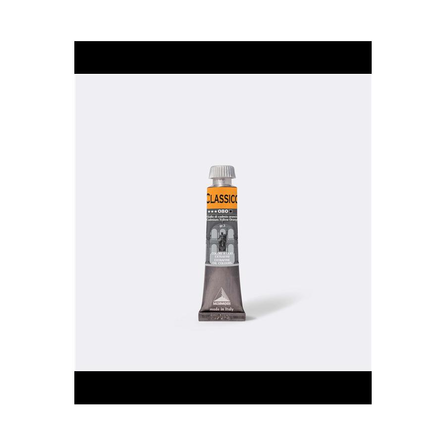 Maimeri Colore ad Olio Extrafine Giallo Cadmio Arancio M0302080 20ml 3 Pz Fila - 2
