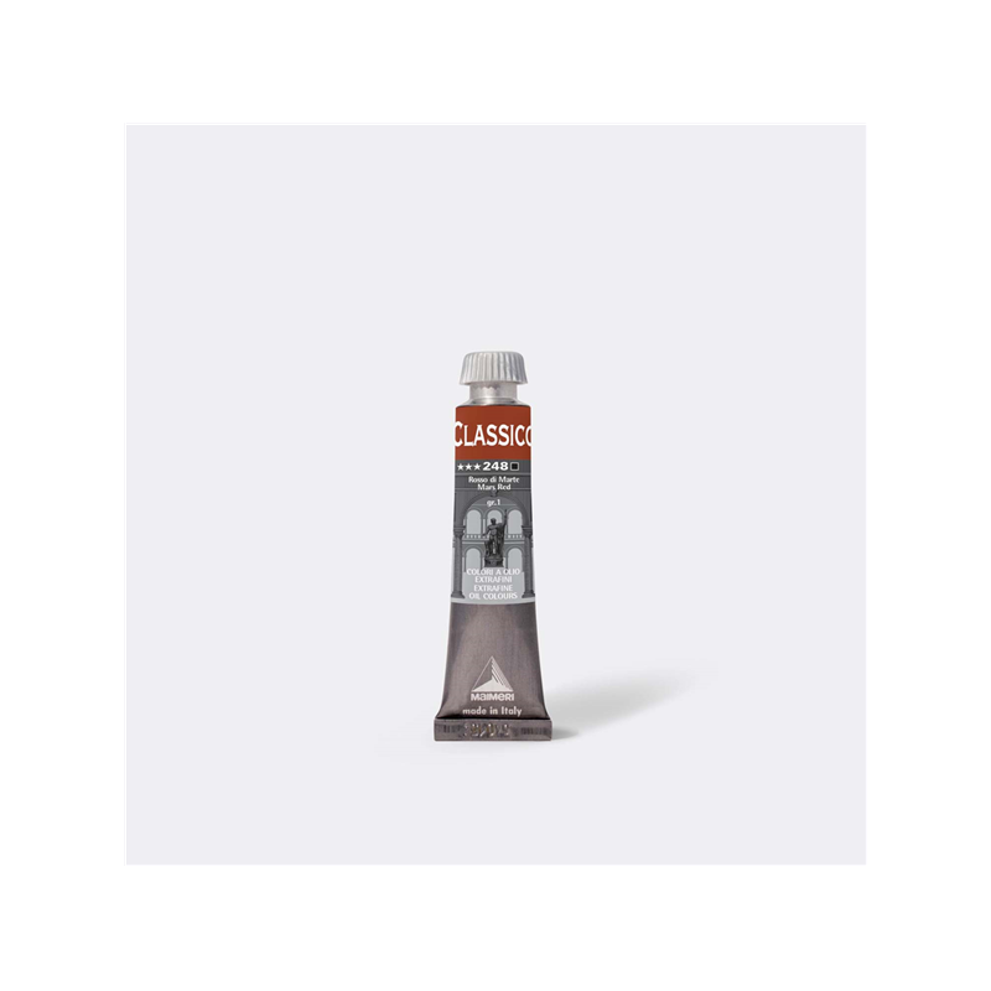 Maimeri Colore ad Olio Extrafine Rosso Marte M0302248 20ml 3 Pz Fila - 1