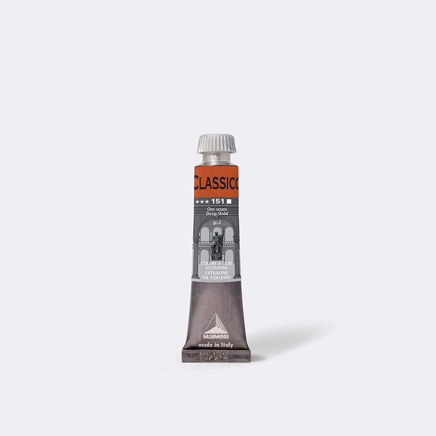 Maimeri Colore ad Olio Extrafine Oro Scuro M0302151 20ml 3 Pz Fila - 1