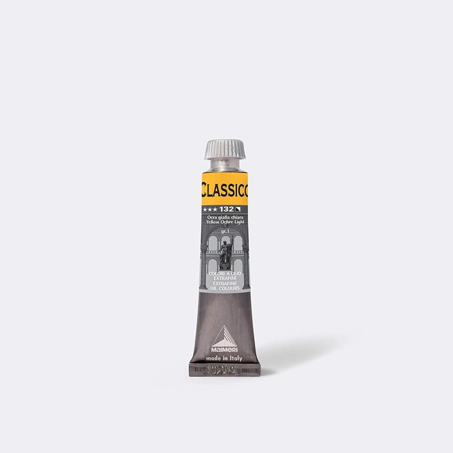 Maimeri Colore ad Olio Extrafine Ocra Giallo Chiaro M0302132 20ml 3 Pz Fila - 1