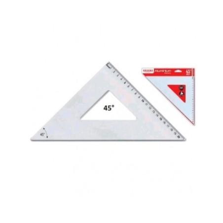 Squadra 45° 35 cm in Alluminio Arda - 1