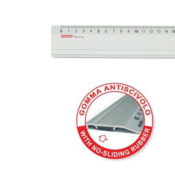 Riga Profil 100 cm in Alluminio Arda - 2