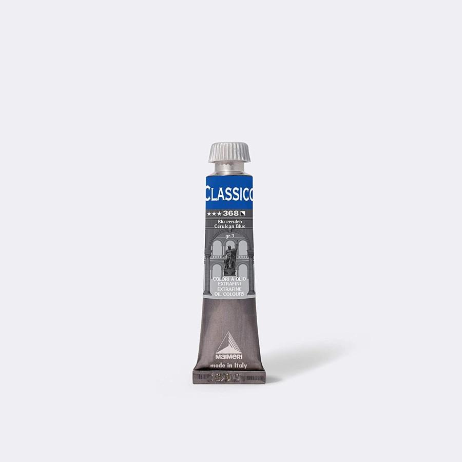 Maimeri Colore ad Olio Extrafine Blu Ceruleo M0302368 20ml 3 Pz Fila - 1