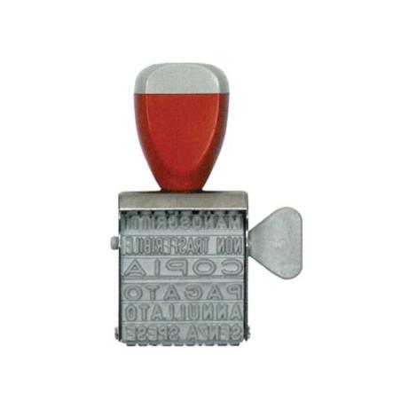Timbro da Inchiostrare Polinomio in gomma 4mm 13NIK039 NikOffice - 1