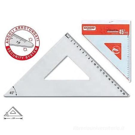 Squadra 45° 30 cm in Alluminio Arda - 1