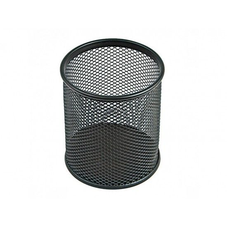 Portapenne Rete diametro 8cm Nero NikOffice - 1
