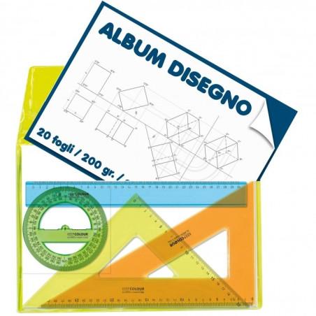 Set Disegno in Busta Porta Album Arda - 1