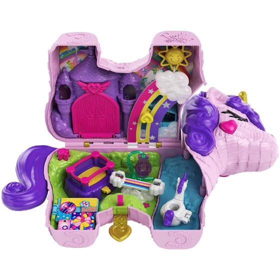 Polly Pocket Unicorno Magiche Sorprese GVL88 Mattel - 3