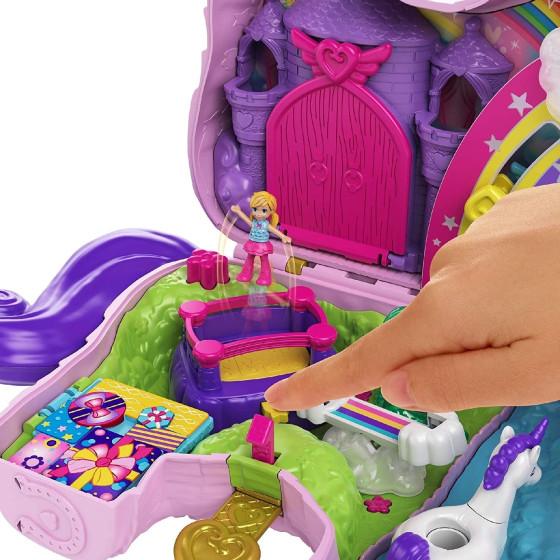 Polly Pocket Unicorno Magiche Sorprese GVL88 Mattel - 4