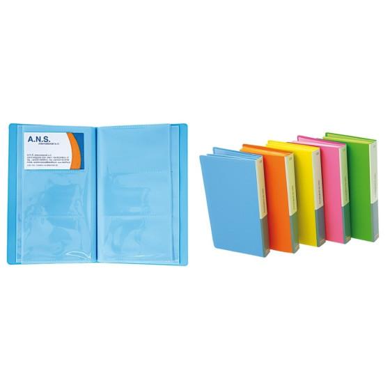 Portabiglietti da Visita 120PS 01NIK196 Colori Assortito NikOffice - 1