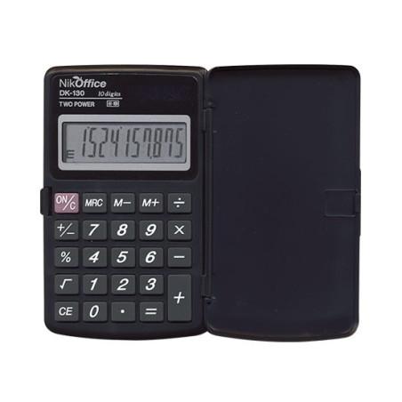 Calcolatrice Scientifica 10 Cifre Digit DK-130 08NIK002 NikOffice - 1
