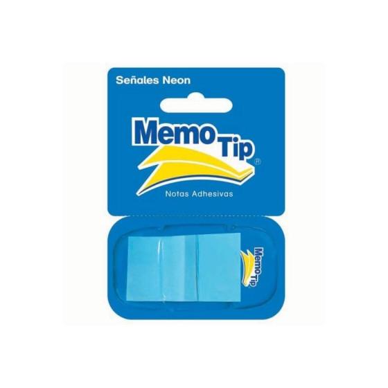Memo Tip Flags Segnapagina 25mm Blu 50 Fg 30NIK026/4 NikOffice - 1