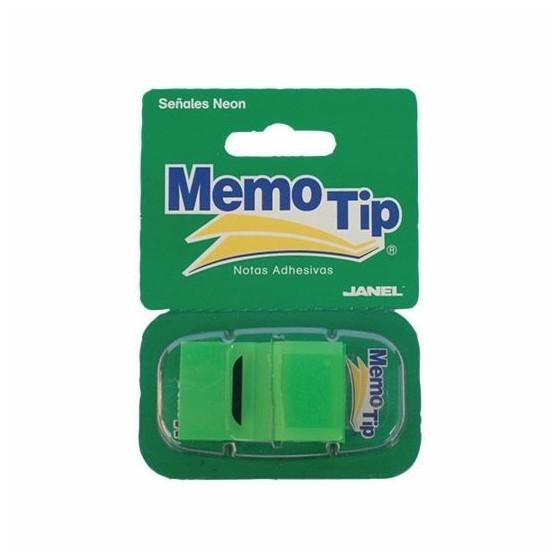 Memo Tip Flags Segnapagina 25mm Verde 50 Fg 30NIK026/2 NikOffice - 1