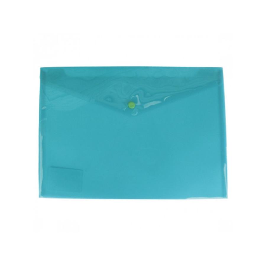 Busta Con Bottone A5 210 x 148mm Verde 5 Pz 01NIK053 NikOffice - 1