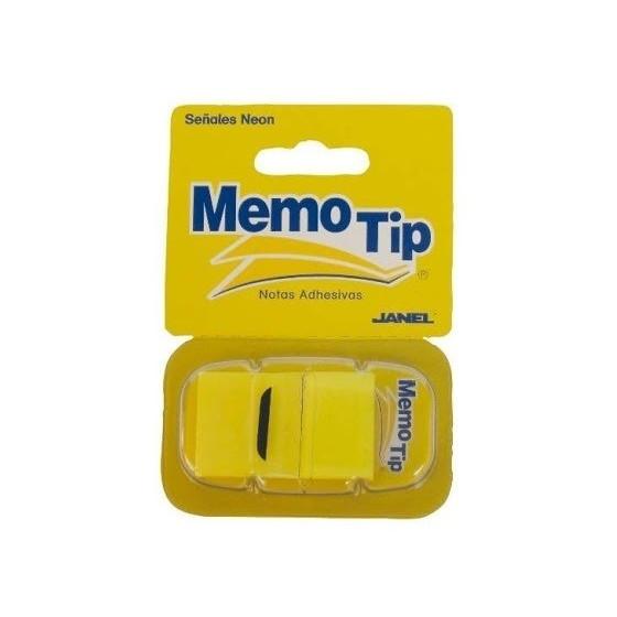 Memo Tip Flags Segnapagina 25mm Giallo 50 Fg 30NIK026 NikOffice - 1