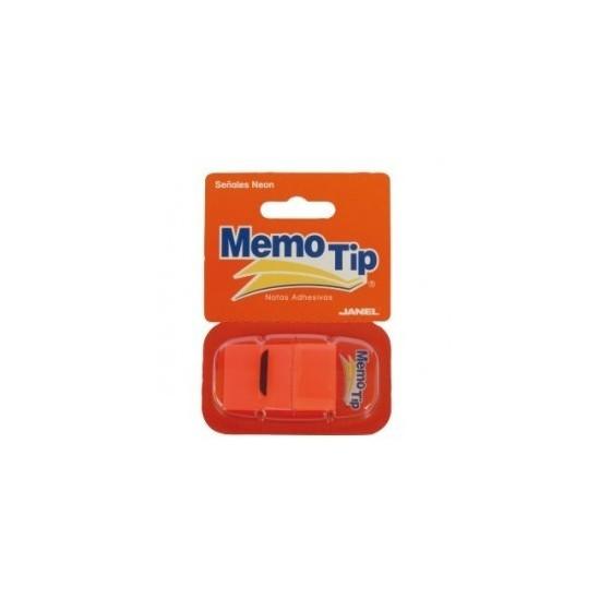 Memo Tip Flags Segnapagina 25mm Arancio 50 Fg 30NIK026/1 NikOffice - 1