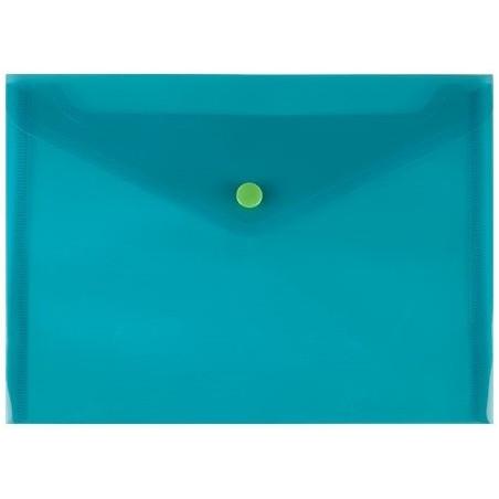 Busta con Bottone 240X120mm Verde 5 Pz 01NIK213 NikOffice - 1