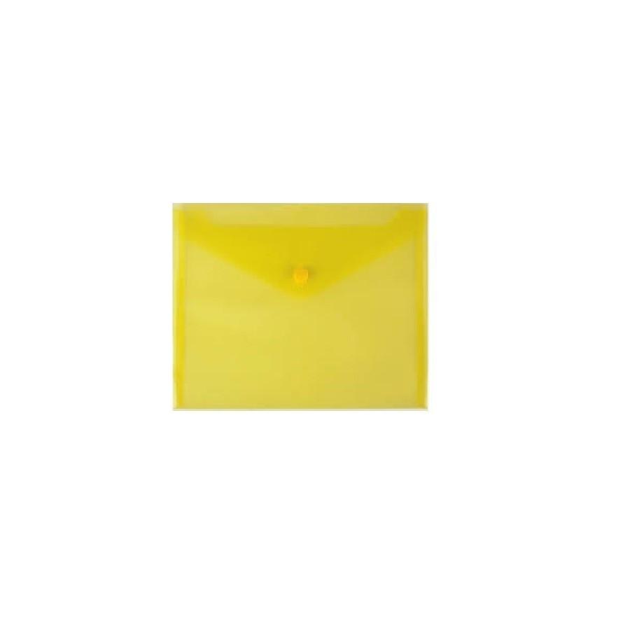 Busta con Bottone 240X120 Giallo 5 Pz 01NIK212 NikOffice - 1