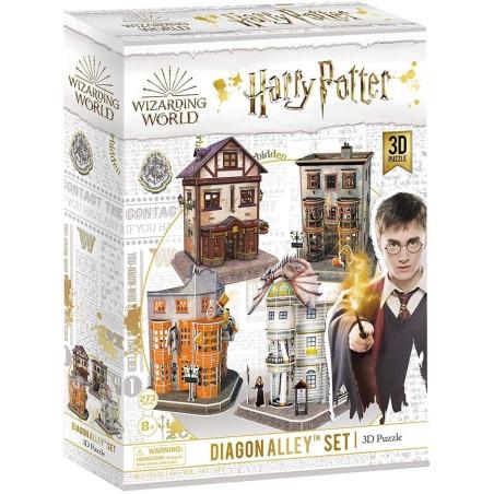 Harry Potter Puzzle 3D Diagon Alley Originale - 1