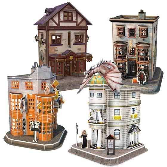 Harry Potter Puzzle 3D Diagon Alley Originale - 2
