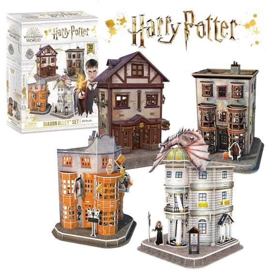 Harry Potter Puzzle 3D Diagon Alley Originale - 3