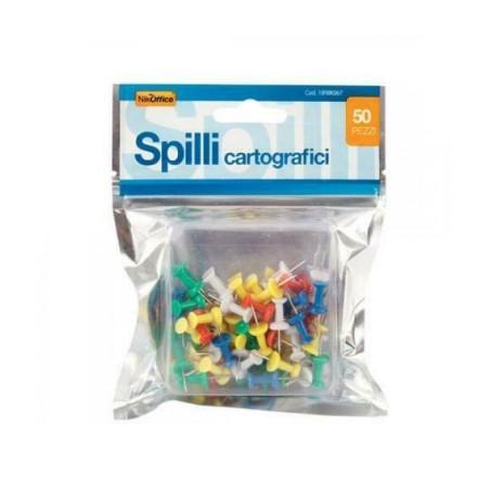 Spilli Cartografici in Busta 50 Pz 18NIK067 NikOffice - 1