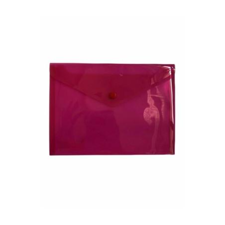 Busta Con Bottone A5 210 x 148mm Rosso 5 Pz 01NIK054 NikOffice - 1
