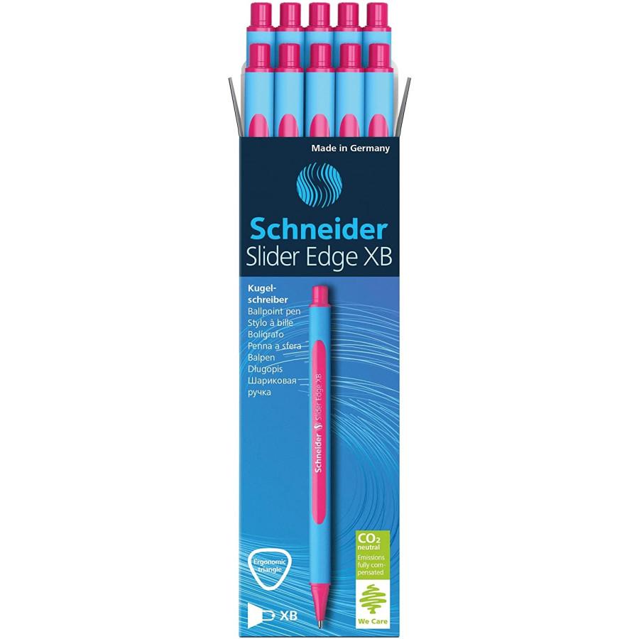 Penna a sfera Slider Edge XB - Rosa - 10 pz Schneider - 1