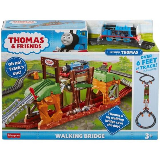Trenino Thomas Pista Il Ponte Mobile delle Meraviglie GHK84 Mattel - 1