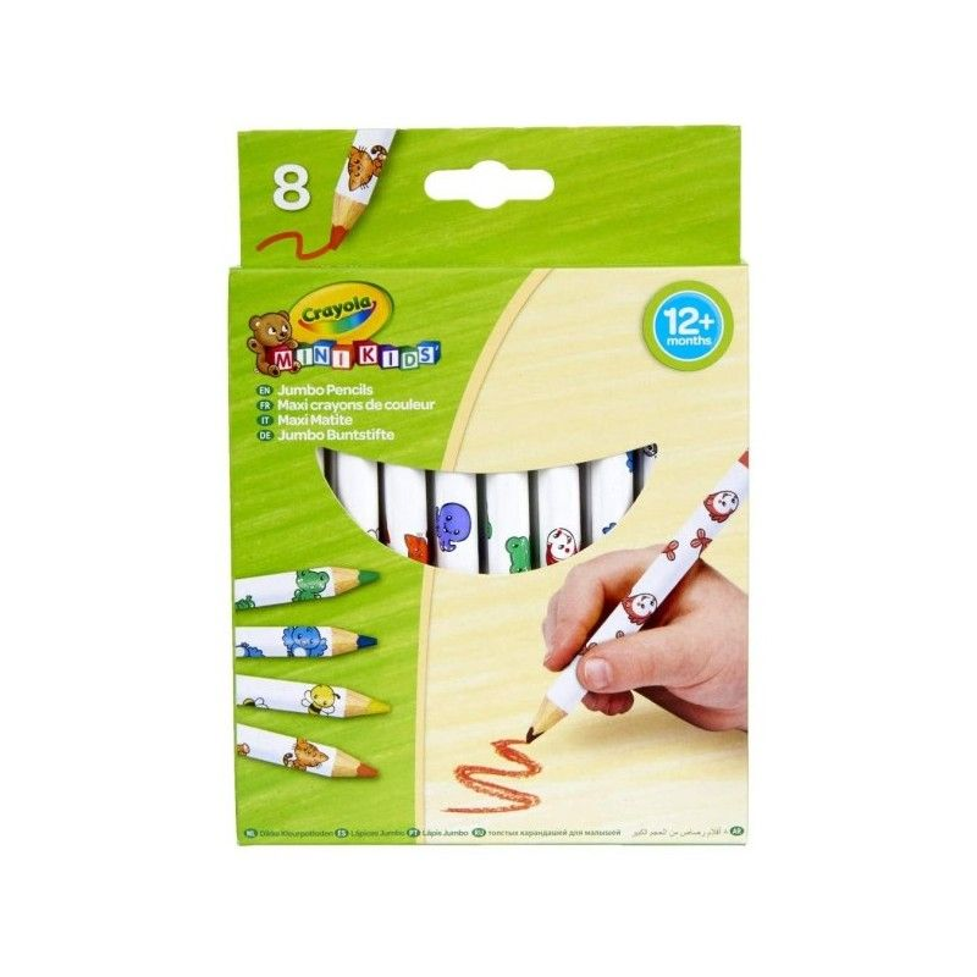 Crayola Maxi Matite con Animaletti 8 pz Crayola - 2
