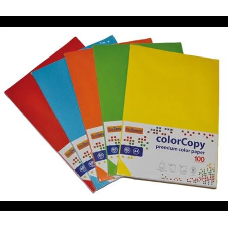 Risma Carta A4 210x297mm 125 Fg 160 g Colori Forti 23NIK095/160 NikOffice - 1