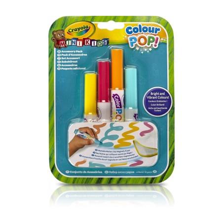 Set Ricarica con Pennarelli Lavabili Color Pop Crayola - 1