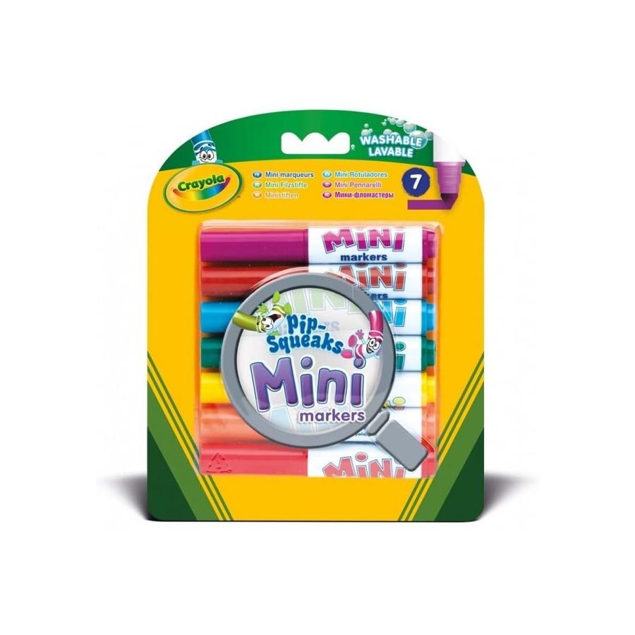 Mini Pennarelli Lavabili 7 pezzi Crayola - 1