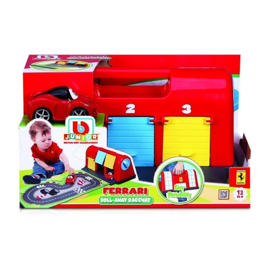Garage Ferrari con Tracciato Portatile Bburago - 1