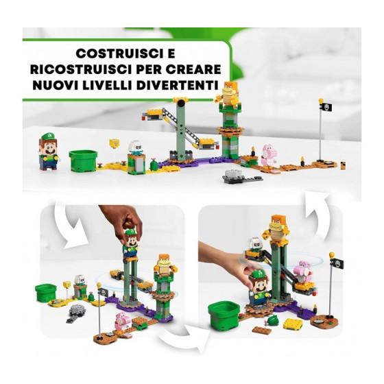 Lego Super Mario 71387 Le Avventure di Luigi Starter Pack Lego - 1