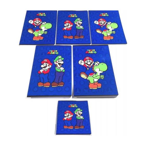 Quaderno Maxi Super Mario 100 gr Rigatura Q confezione 10 pz Originale - 2