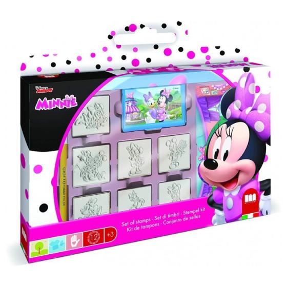 Valigetta Set Timbri e Pennarelli Minnie Multiprint - 1